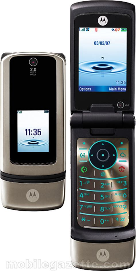 Motorola Krzr K1 Canary Coming Soon by Motorola Krzr K3 Mobile Gazette Mobile Phone News