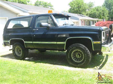 gmc jimmy 1989 1989 gmc jimmy sport utility 2 door 5 7l