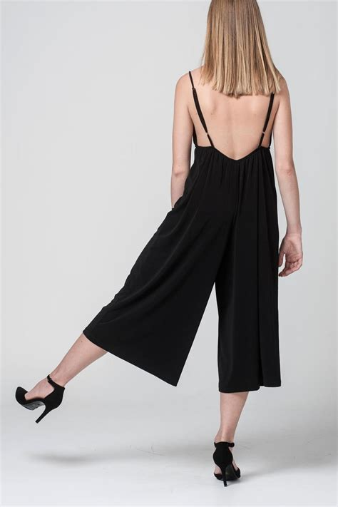 Jumpsuit Import Ilya Trendy Fashion Studio Trendy Black Jumpsuit From