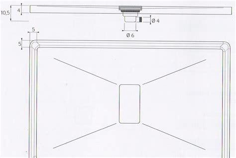 piatto doccia vetroresina piatto doccia in vetroresina altezza 4 cm con piletta