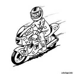 coloriage moto de course jecolorie com