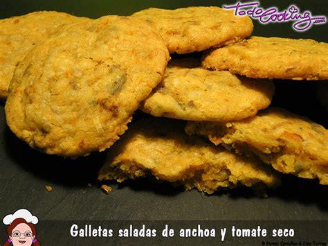 anchoas saladas galletas saladas de anchoas y tomate seco aperitivo de 10