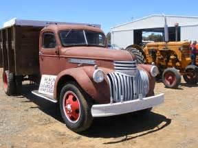 1945 chevrolet truck front flickr photo