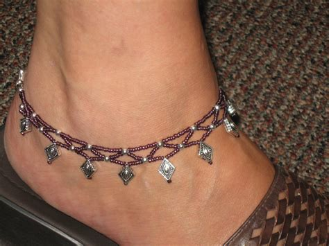 Beaded Anklet   KB Cakes & Creations