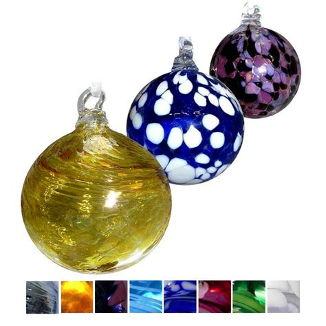 Handmade Glass Baubles - lucky baubles