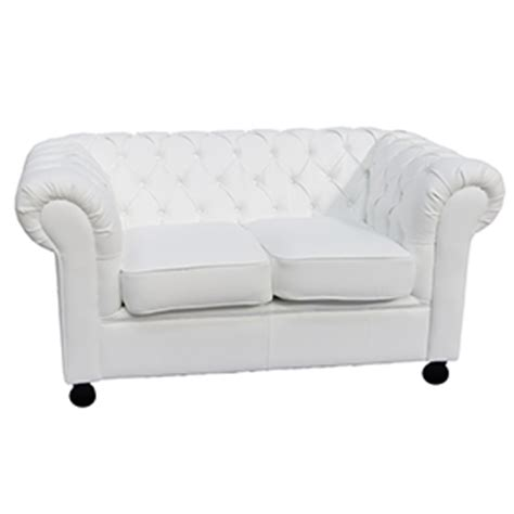 Funky Chesterfield Sofa White 2 Seat Chesterfield Inspired Sofa From Funky Furniture