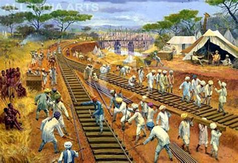 Mba Colonialism by Historic Mombasa East Railways