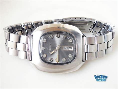 Ricoh 21 Jewels Automatic ricoh 21 jewels automatic day date by big ben watches