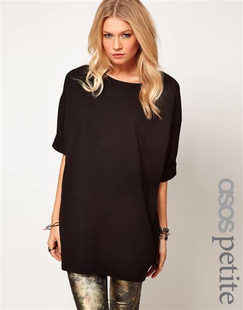 Tshirt Oversize asos oversized tshirt in black lyst