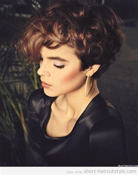 short pixie haircuts curly hair 12 short hairstyles for curly hair popular haircuts