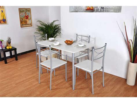 ensemble table rectangulaire 4 chaises de cuisine tutti ensemble table rectangulaire 4 chaises tuti coloris
