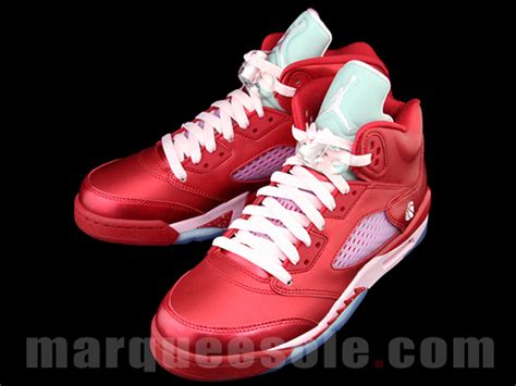 valentines day jordans air v gs quot valentines day quot sneakernews