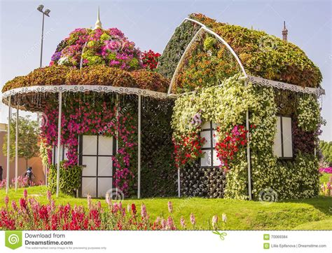 flowers house amazing colorful house of flowers in the miracle garden