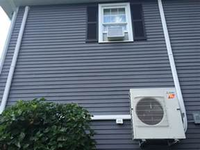 Mitsubishi Ductless Cooling 3 Zone Mitsubishi Ductless Hvac System Installation