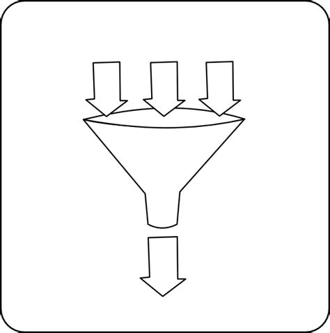 funnel clipart funnel clip at clker vector clip