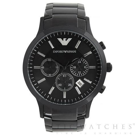 emporio armani ar2453 gents black cheapest armani