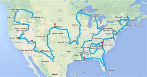 best road trip map for usa this haunting road trip through america s ghost towns is