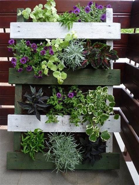 Vertical Garden Made Out Of Pallets 30 Diy Furniture Made From Wooden Pallets Kojydecor