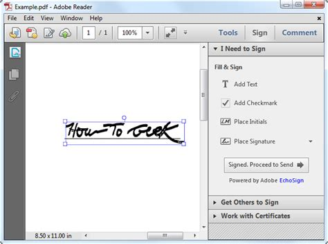 Sign Pdf Documents