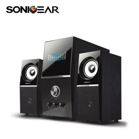 Speker Sonic Gear Titan5 Btmi Bluetooth sonicgear 2 1 bluetooth speaker evo 5 pro btmi