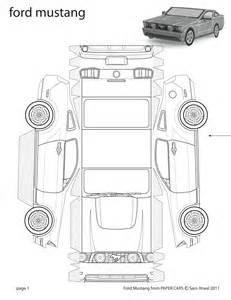 Paper Car Template by 18 Best Photos Of Car Paper Car Template 3d Paper