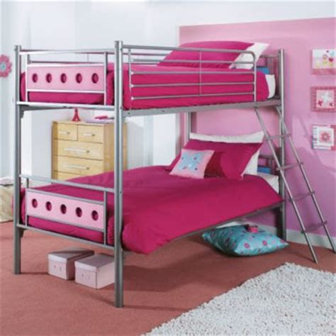 choose pink bunk beds for girls home decorating ideas