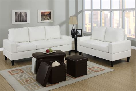 cream colored living rooms bob kona 5 piece livingroom set in cream colored leather