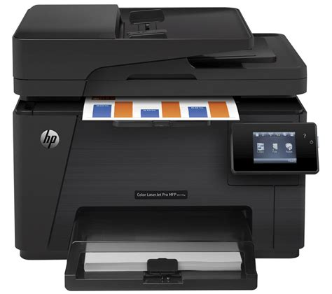 Printer Laserjet Wifi hp laserjet pro m177fw all in one wireless laser printer with fax deals pc world