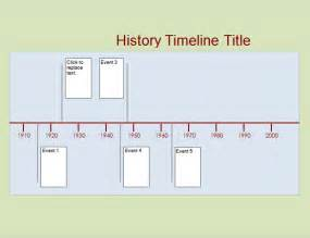 History Timeline Template Free timeline template 61 free word excel pdf ppt psd