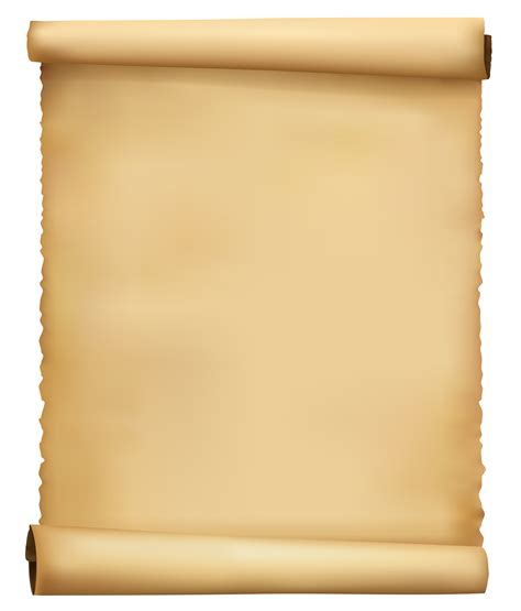 Transparent Craft Paper - edit and free scrolled ancient paper png clipart