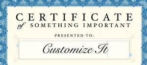 Customizable Certificate Templates by Certificate Template For Pages And Pdf Mactemplates