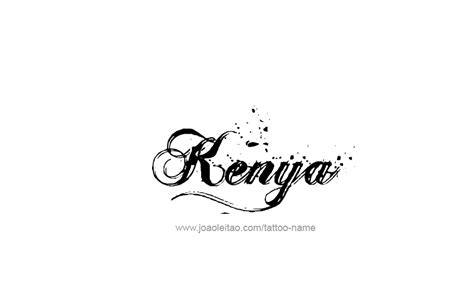 kenya name designs