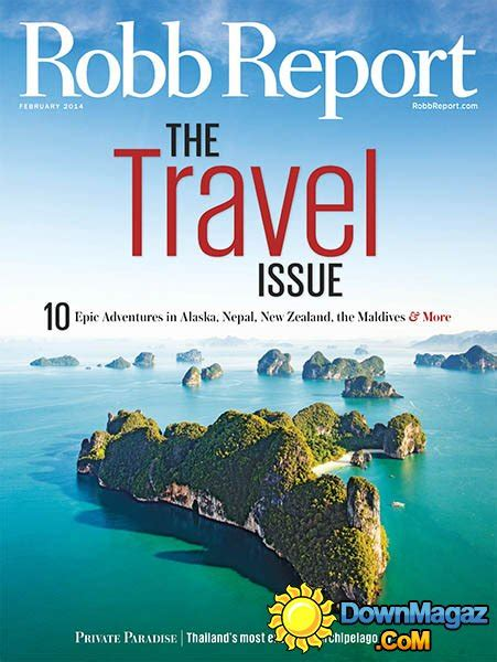 Robb Report Magazine by Robb Report Usa February 2014 187 Pdf Magazines Magazines Commumity