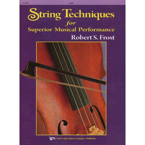 String Techniques - robert string techniques for superior musical