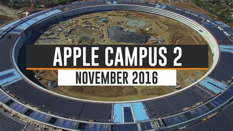 apple headquarters tour hot on youtube apple campus 2 november 2016 update 4k