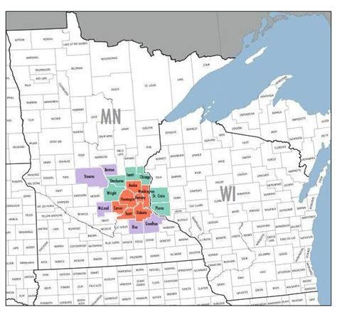 Us Metro Areas Minneapolis Stpaul Bloomington 1 ? Mapsof.net