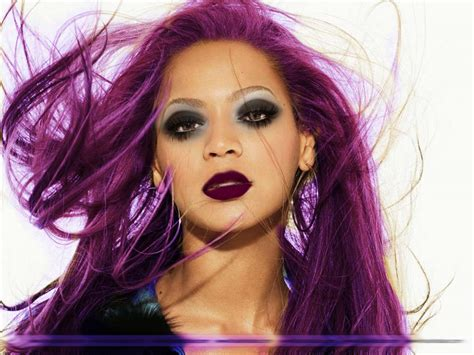the violet hair makeover beyonce makeup and purple hair beauty pinterest