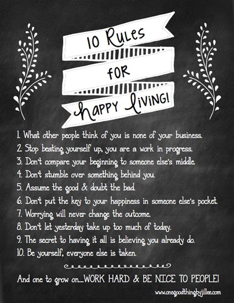 10 to happier living books jillee s for happy living free printable one