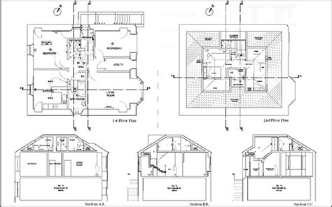 Section Through Dormer Window Small Loft Conversion On Behance