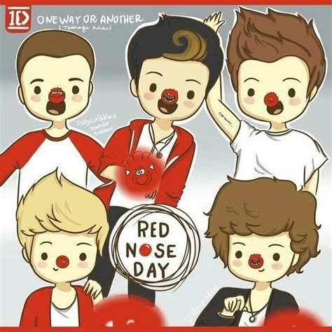 one direction red nose day one ditection one way or another red nose day red