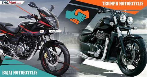 bajaj allience bajaj auto triumph motorcycles announce global alliance