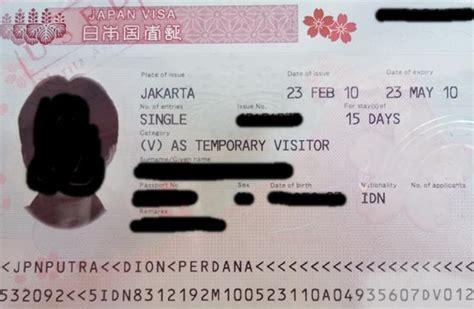 cara membuat visa waiver jepang cara mudah membuat visa jepang di jvac 5 hari beres