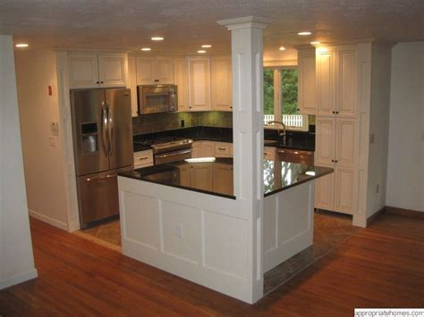 Kitchen Island Post Kitchen Island Pillar On Pinterest Hickory Kitchen Cabinets Hickory Kitchen And Large Kitchen