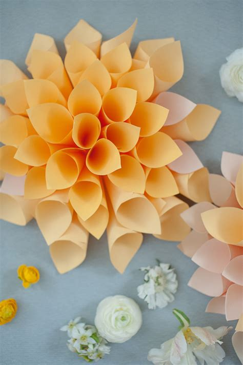diy paper flowers diy wedding decor 100 layer cake