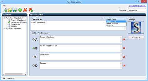 printable multiple choice quiz maker download free quiz maker 1 0 0 0