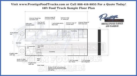 custom food truck floor plan sles prestige custom custom food truck floor plan sles prestige custom