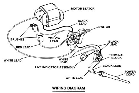 craftsman electric drill wiring diagram wiring diagram