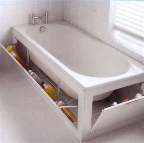 diy bath diy bathtub surround storage ideas hative