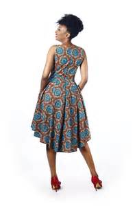The pq african print dress luxoca