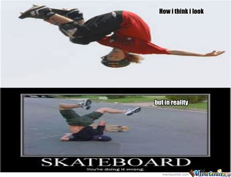 skateboarding by jumanji meme center